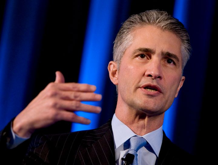 Jeff Smisek stepped down as United's CEO amid a corruption scandal.
