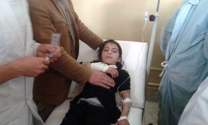 Dozens of other girls were injured in the stampede, but are recovering in a local hospital.