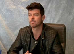 Robin Thicke Admits He Was 'High Or Drunk' In Every Interview He Did In 2013