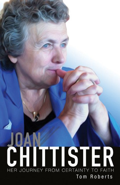 <i>Joan Chittister: Her Journey from Certainty to Faith</i> book cover.