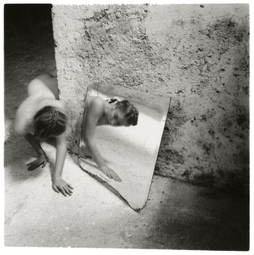 "Francesca Woodman, ""Self-Deceit # 1,"" 1978 © Betty and George Woodman"
