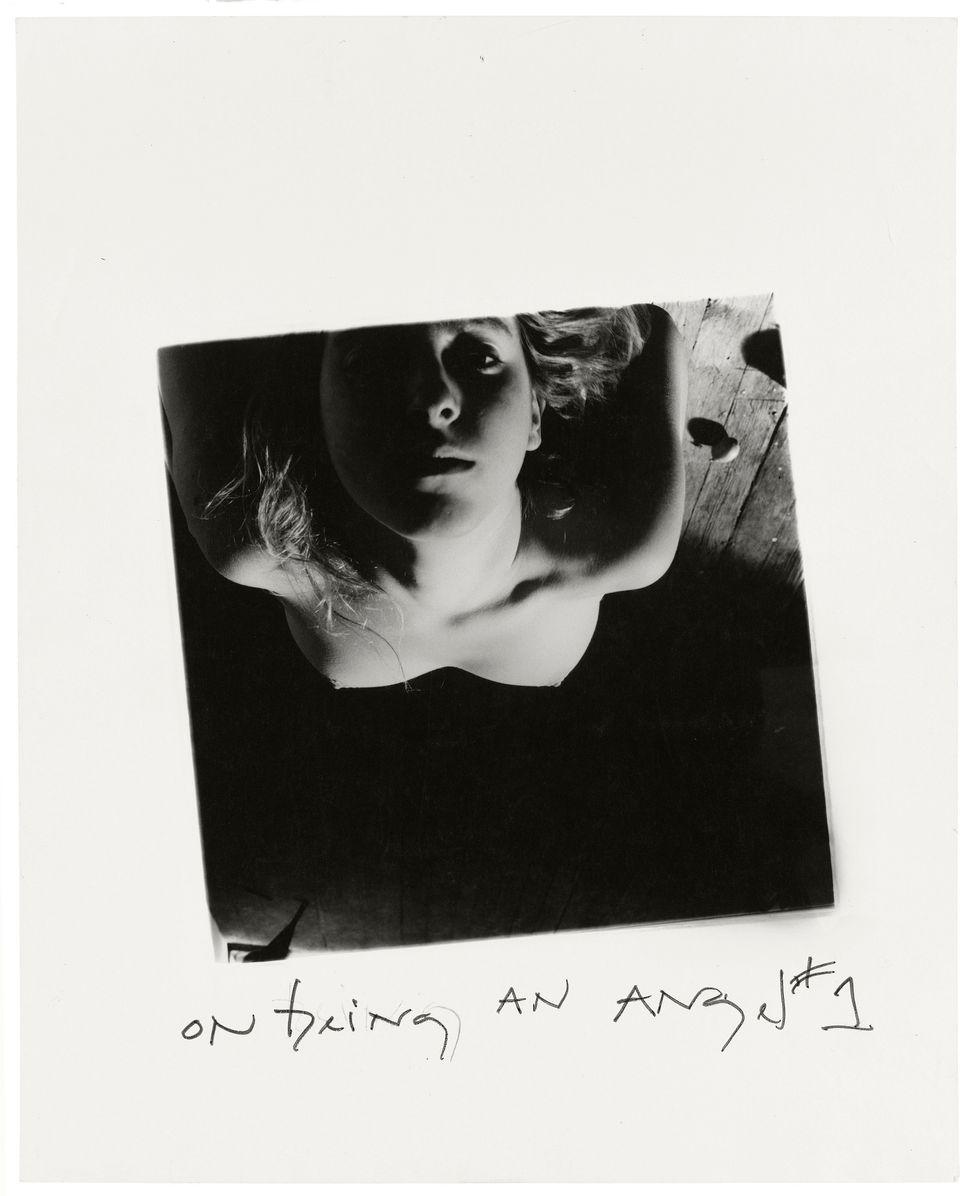 "Francesca Woodman, ""On Being an Angel # 1,"" 1977 © Betty and George Woodman"