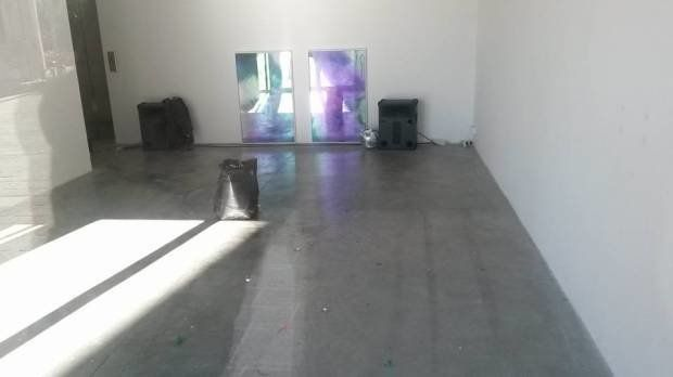 The cleaned space where Goldschmied & Chiari's Where Are We Going to Dance Tonight? was installed. Photo: Museion, via Fa
