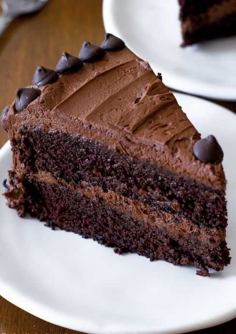 "<strong>Get the <a href=""http://sallysbakingaddiction.com/2013/04/08/triple-chocolate-layer-cake/"" target=""_blank"">Triple Cho"