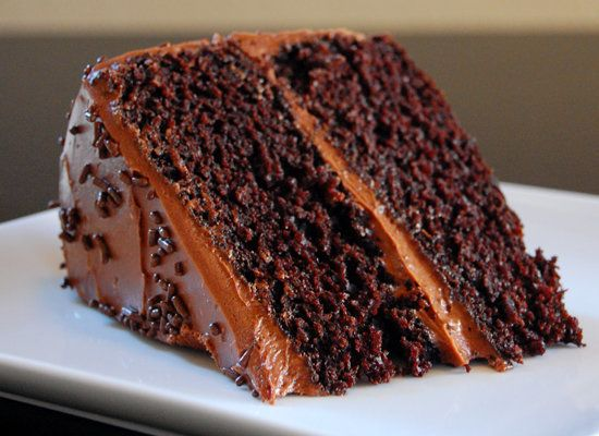"<strong>Get the <a href=""http://wee-eats.com/2011/06/06/chocolate-cake/"">Double Dark Chocolate Cake recipe</a> fromWee Eats</"