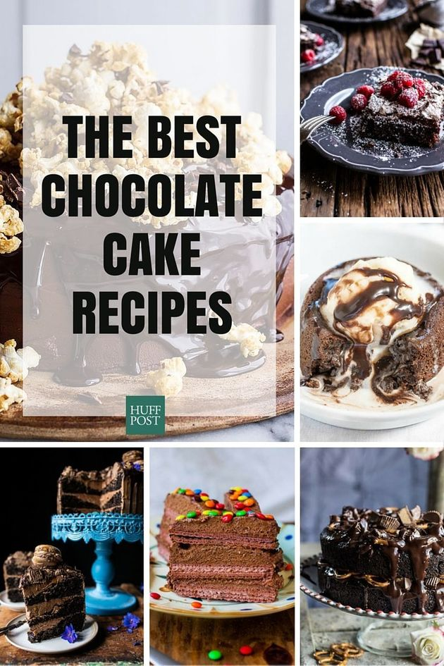 The Best Chocolate Cake Recipes You'll Ever