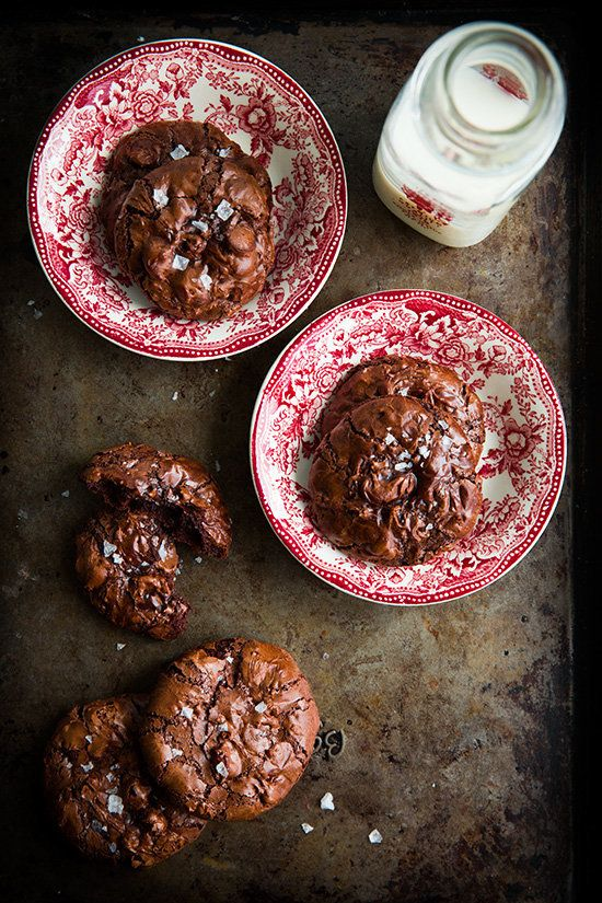 "<strong>Get the <a href=""http://www.cookingclassy.com/2014/04/flourless-chocolate-cookies/"">Flourless Chocolate Cookies recip"