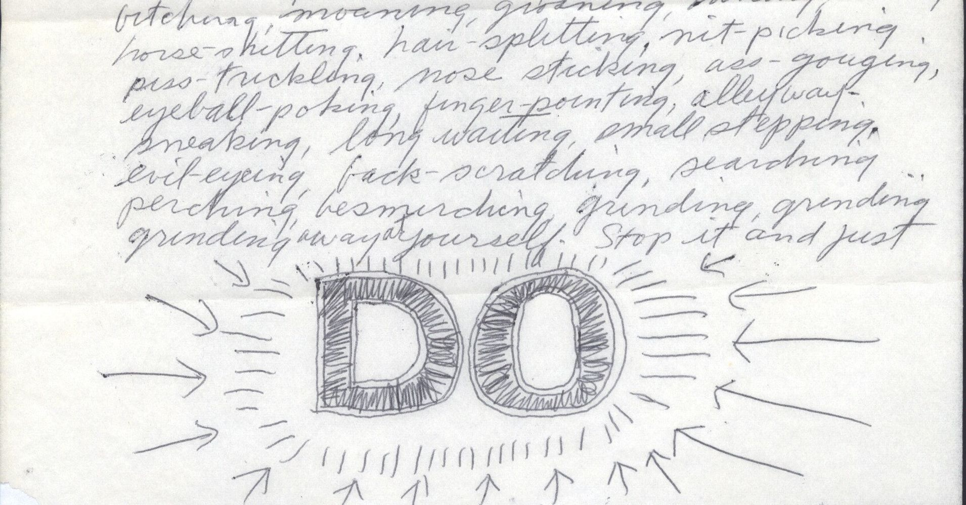 Sol LeWitt's Advice To Eva Hesse Is What Every Creative