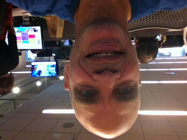 This was upside down when we sent it to @deepselfieso it will remain upside down.