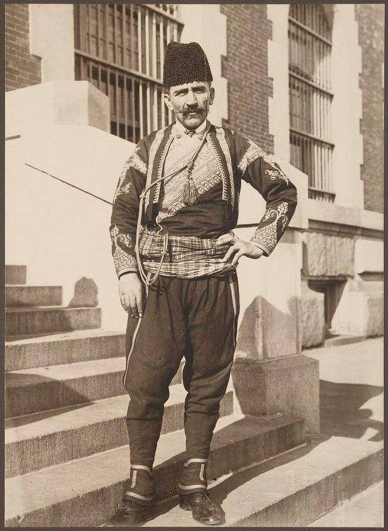 <i>A Turkish man</i>
