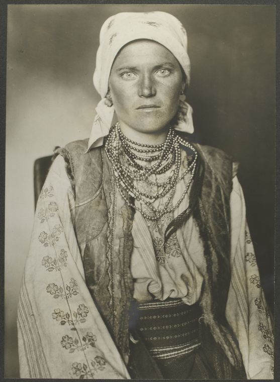 <i>A Ruthenian woman</i>