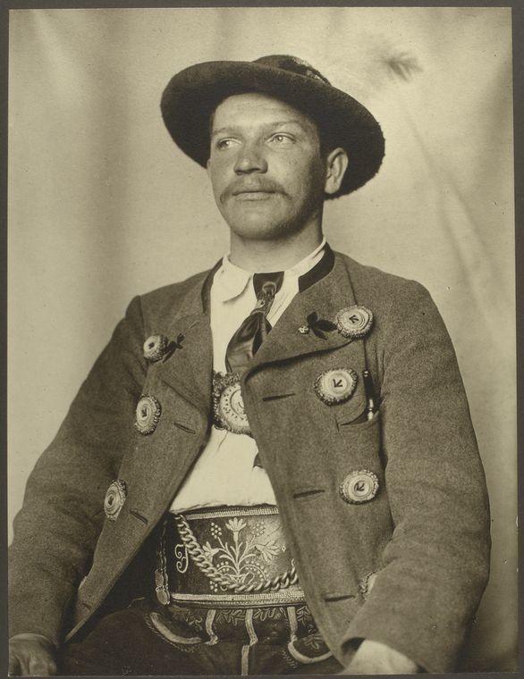 <i>A Bavarian man</i>