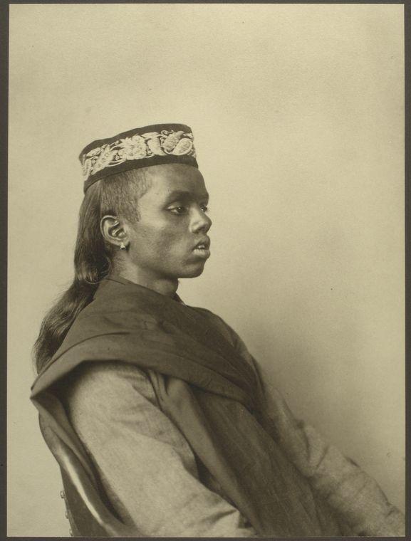 <i>A Hindu boy</i>