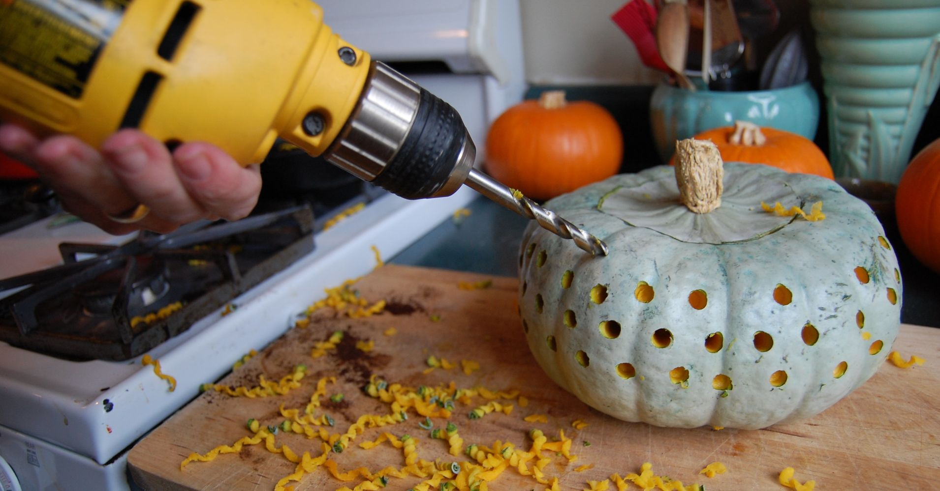 Pumpkin Drill Designs For You The Man With The Power Drill