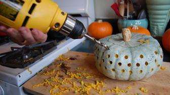 Pumpkin drilling