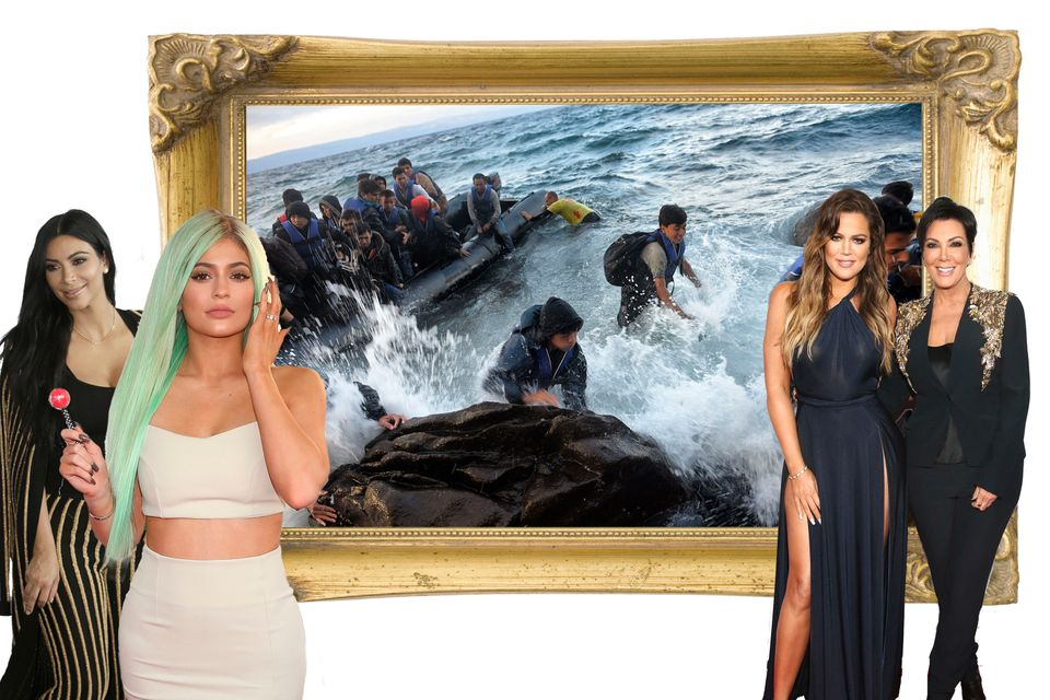 We Added The Kardashians To Syrian Refugee Photos So People Will Give A