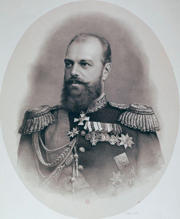 Tsar Alexander III.