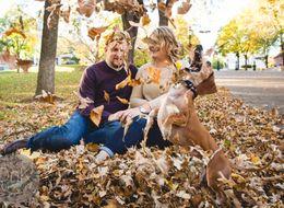 Jealous Pup Epically Photobombs Owner's Engagement Pics