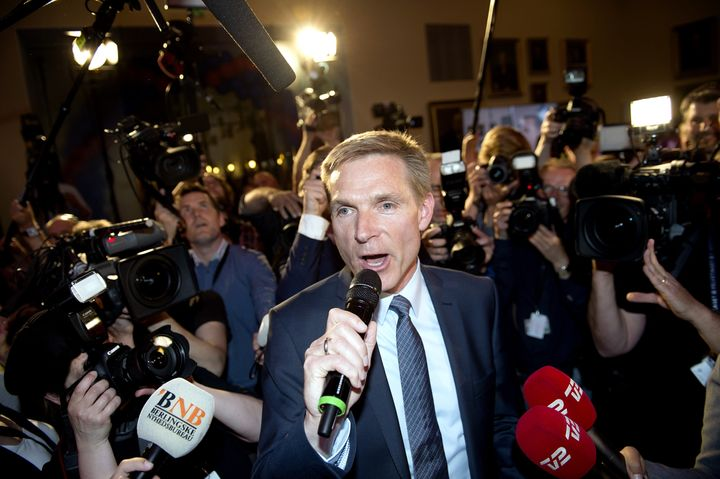 The Danish People's Party was one of a number of far-right parties to see their fortunes rise on anti-immigration sentiment t