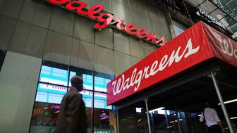 NEW YORK, NY - SEPTEMBER 30:  A Walgreens's store is viewed in Manhattan on September 30, 2014 in New York City. Walgreen Co. said Tuesday a $239 million loss in its fiscal fourth quarter. While much of this loss was due to an expected accounting charge from its Alliance Boots acquisition, the drugstore chain still met Wall Street's expectations.  (Photo by Spencer Platt/Getty Images)