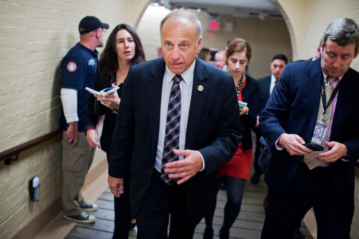 Rep. Steve King (R-Iowa) said the new deal conceded too much to President Obama.