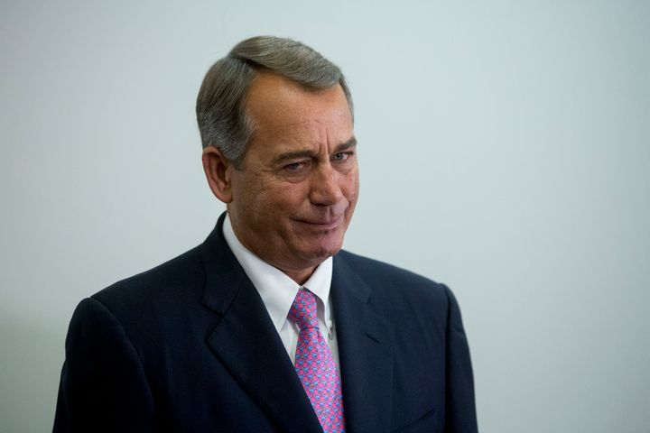 Conservatives were mad at House Speaker John Boehner (R-Ohio) for striking a deal that they thought offered too much to Democ