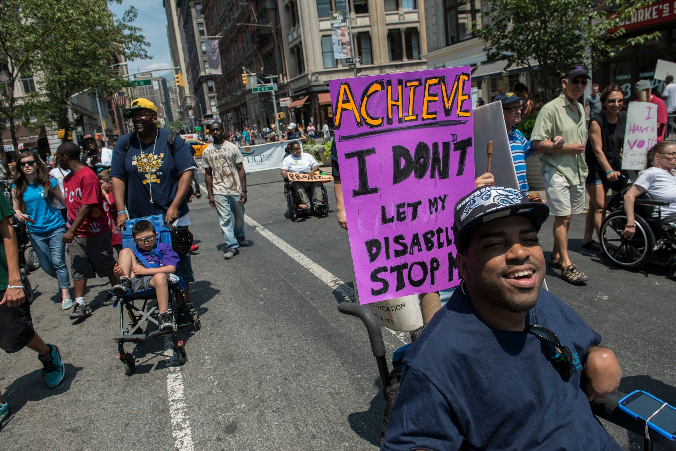 Groups representing people with disabilities were not outraged about the new budget deal.