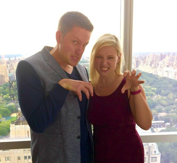 "Steve Schonberg (left) and Laura Heywood will co-host ""Ghost Light"" at Feinstein's/54 Below in New York."
