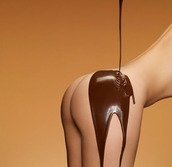 Chocolate coated Tushy