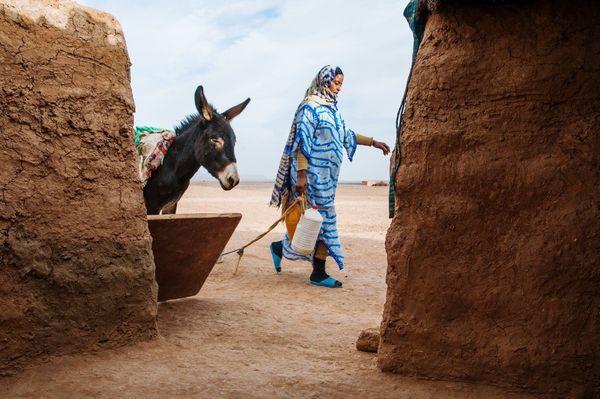 Sahara desert, Merzouga, Morocco.