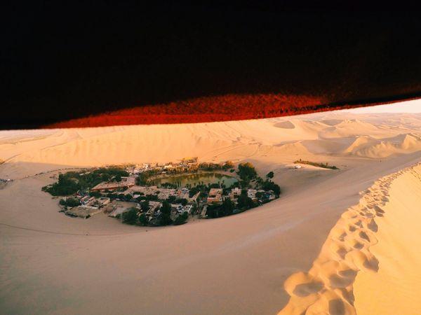 Atacama Desert,Huacachina Oasis Peru.