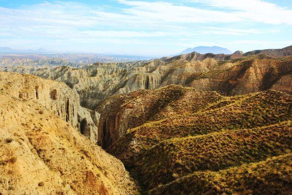 Gorafe Desert, Granada, Spain.