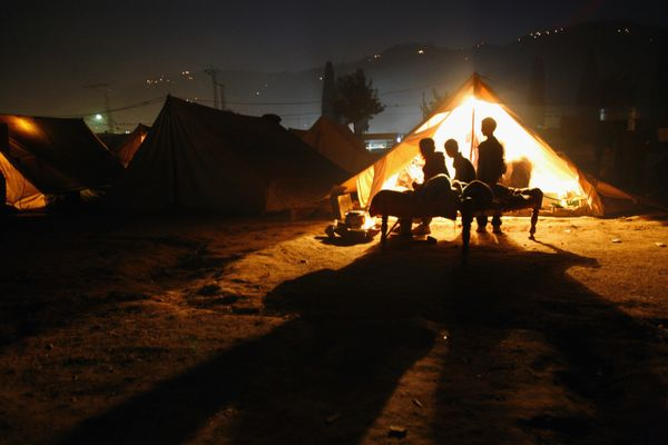 "In January, The Washington Post reported that many refugees in a camp in Zahle, Lebanon,&nbsp;lived in&nbsp;<a href=""https://"