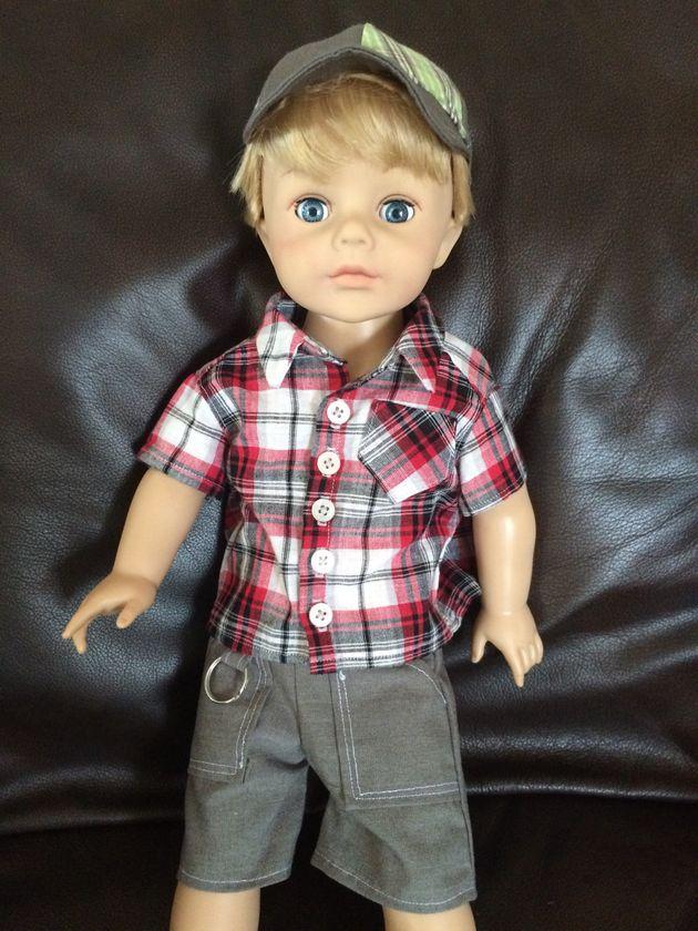 Mom Creates American Boy Doll For Son S 6th Birthday
