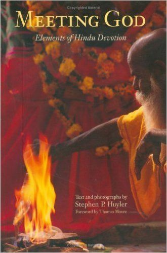 """""""The author provides descriptions of the many devotional rituals that occupy Hindus as they seek darshan, seeing and being se"""