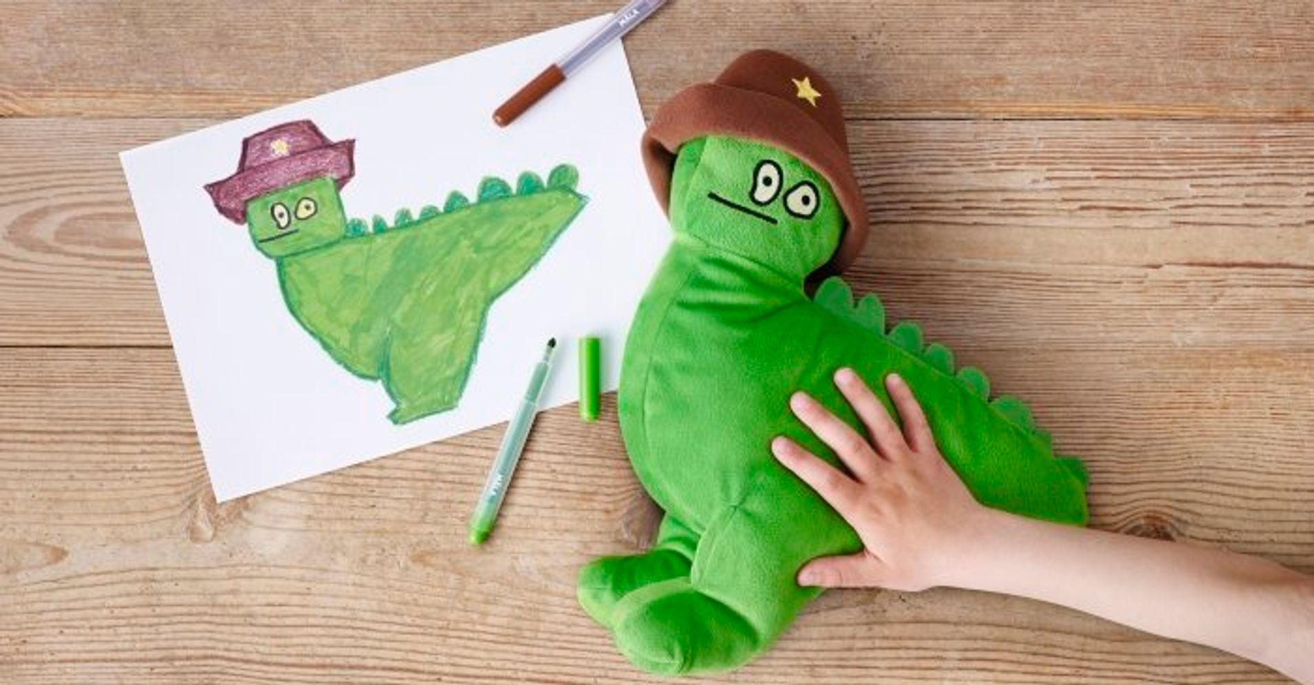 ikea transforms kids 39 drawings into cuddly toys that raise money for charity huffpost. Black Bedroom Furniture Sets. Home Design Ideas