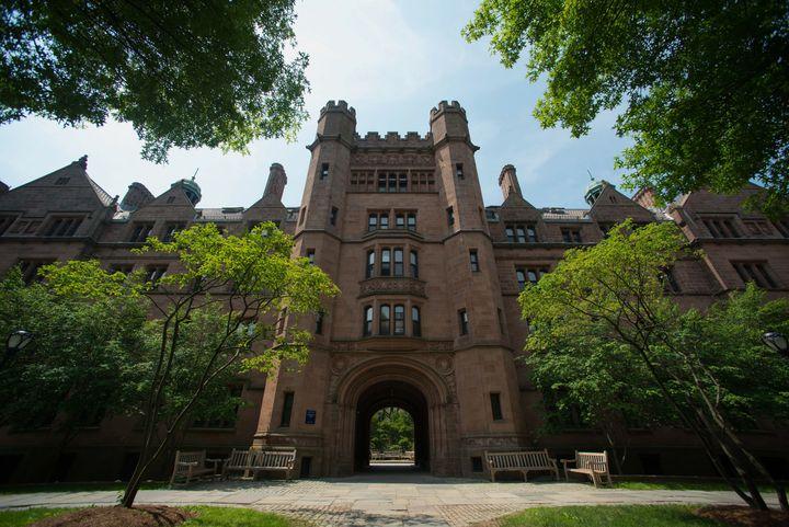 Vanderbilt Hall at Yale University.