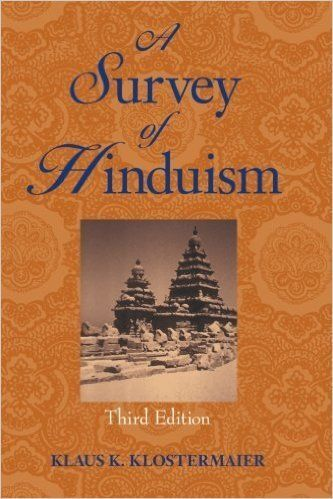 """""""Instead of dividing Hindu history into periods, Klostermaier arranges it thematically, tracing the parallel histories of the"""