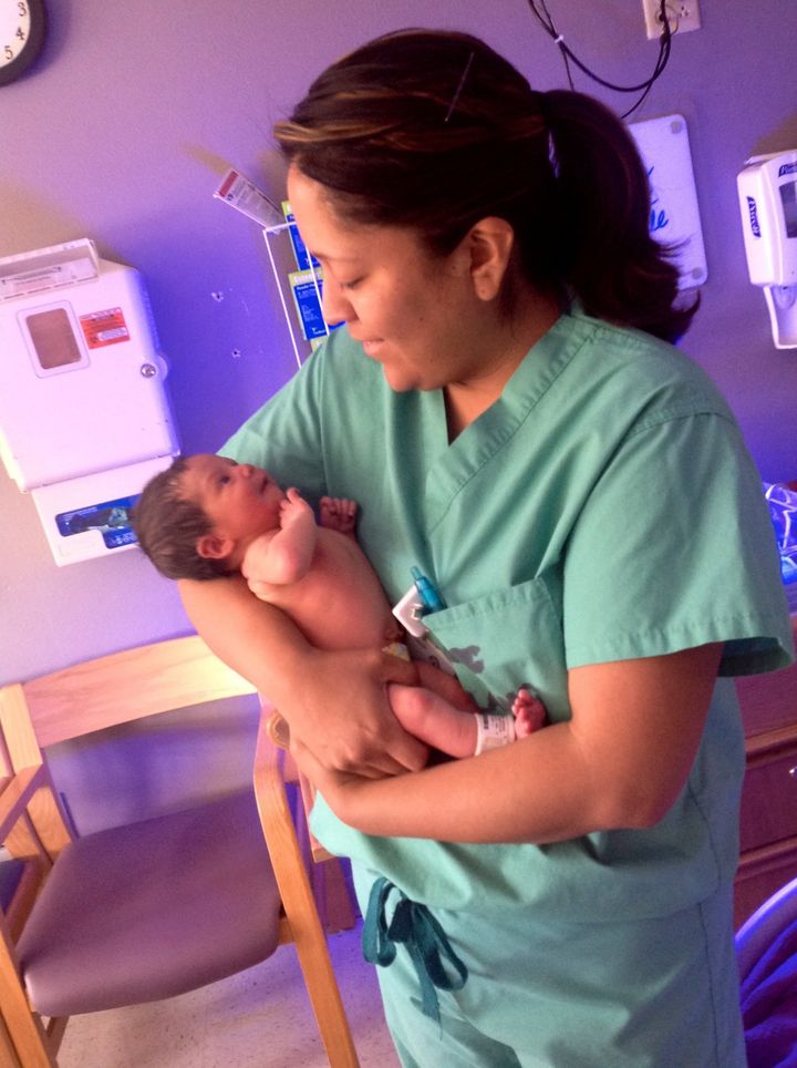Gonzales currently works in private practice, but hopes to help open her own birth center.