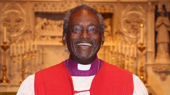 Michael Bruce Curry was elected and confirmed as the 27th Presiding Bishop of The Episcopal Church at the 78th General Convention in Salt Lake City on June 27, 2015. Photo courtesy of Summerlee Walter/Episcopal Diocese of NC