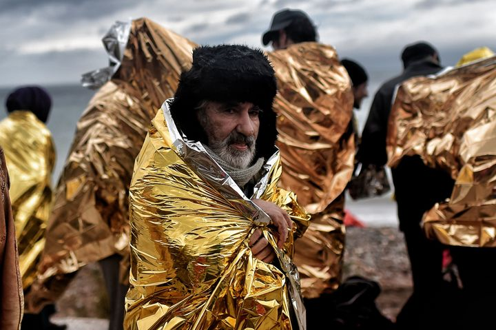 Refugees and migrants who make the journey in winter months face hostile conditions and dangerous temperatures.