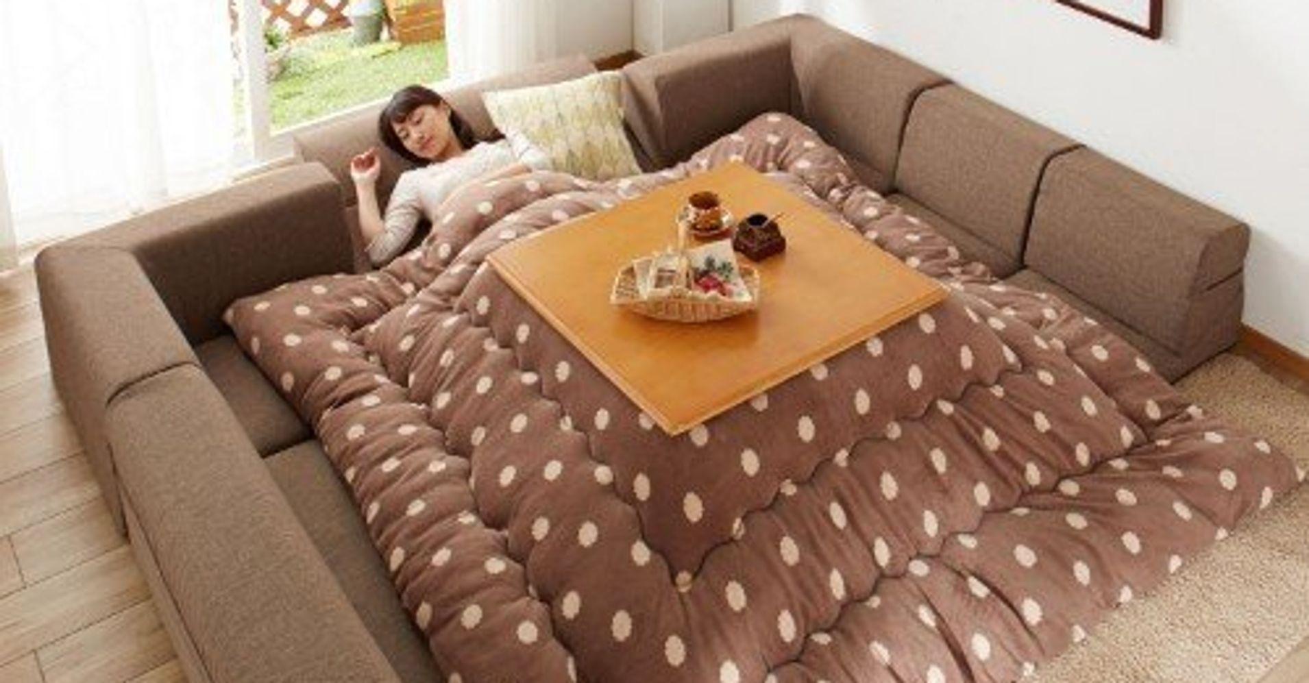 This brilliant japanese invention lets you stay in bed for Beds 4 u ottery