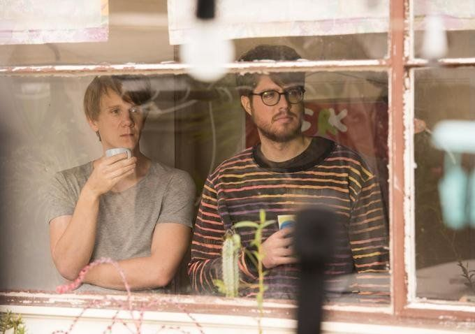 "Josh Thomas and Thomas Ward star in a scene from ""Please Like Me."""