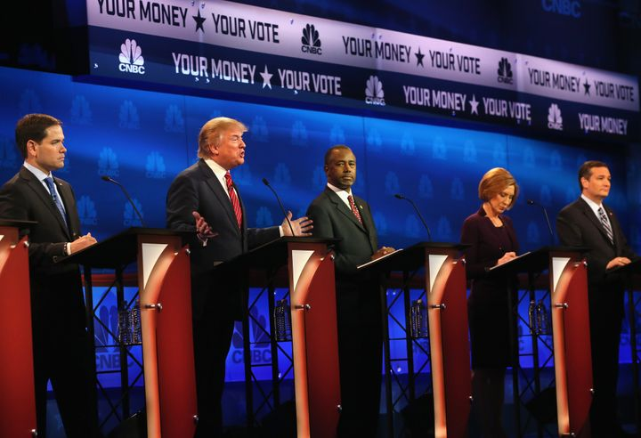 GOP Candidates Debate In Colorado