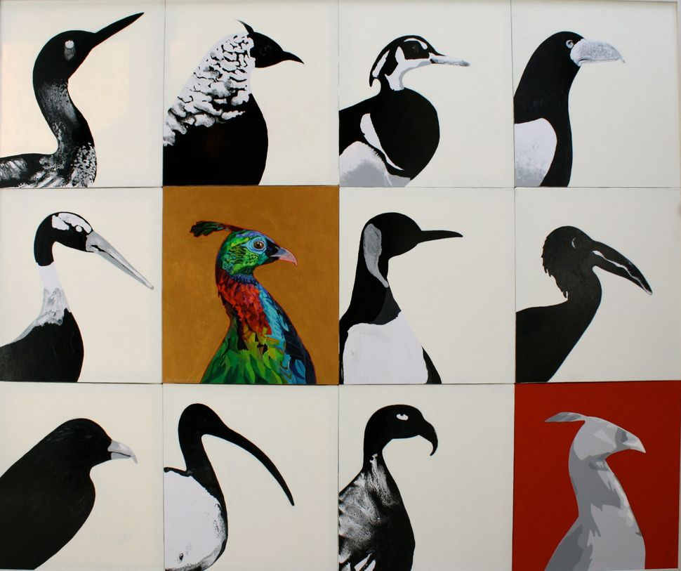 Once a political artist who dealt in the imagery of war, Arjumand now focuseson subjects of the natural world.