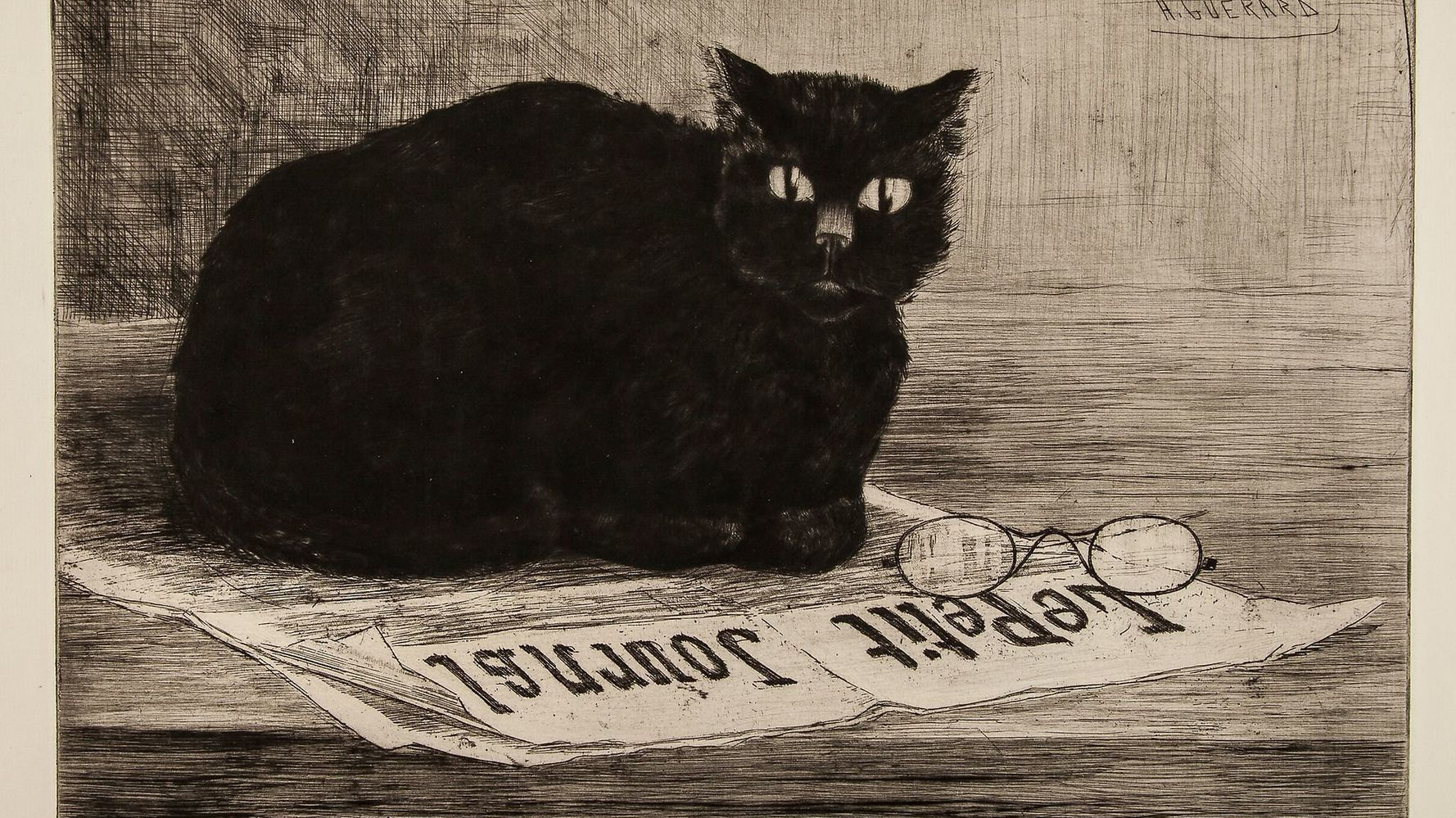 A Giant Trove Of Cat Art Is Headed To Auction On National