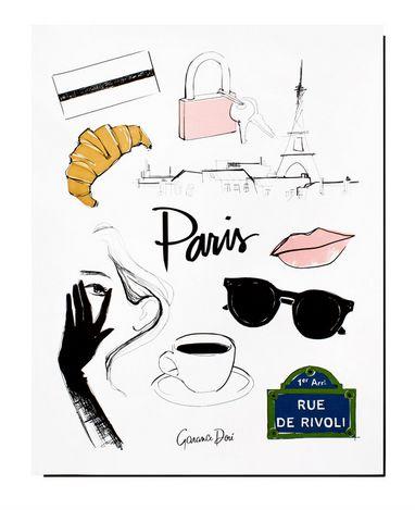 "<i><a href=""http://shop.garancedore.fr/products/paris-poster"" target=""_blank"">Garance Dore ParisPoster 11x14 in Illustr"