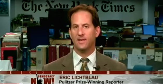 Eric Lichtblauwill once again cover theJustice Department beat at The New York Times.