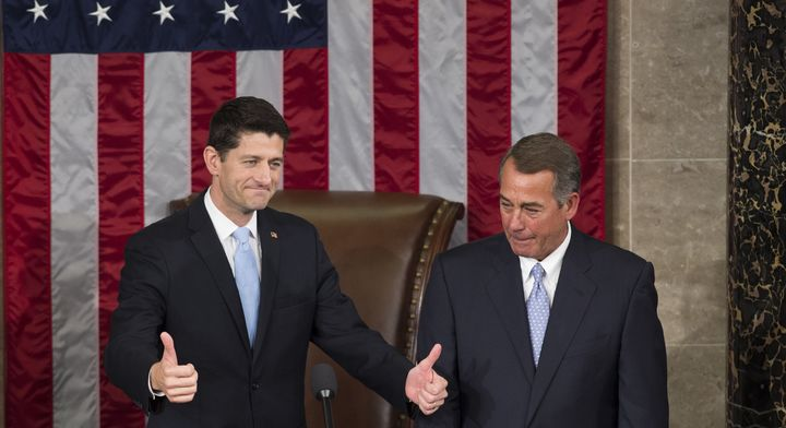Ryan represents a sharp contrast with Boehner.
