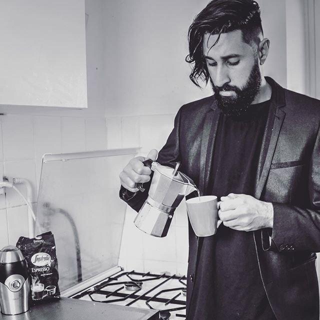 Bearded men on Instagram